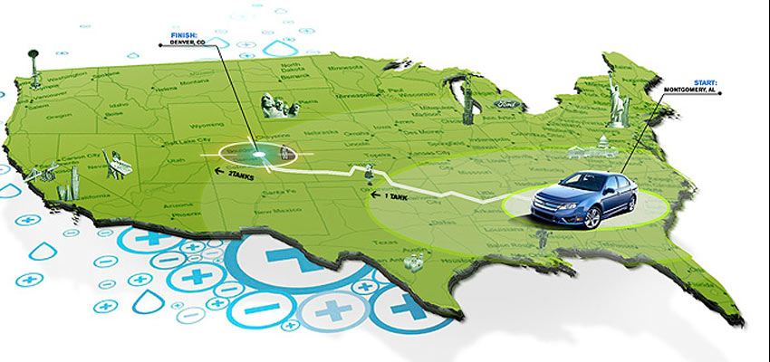 Ford Range Map