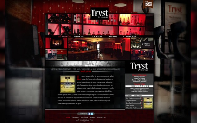 NightClub Website