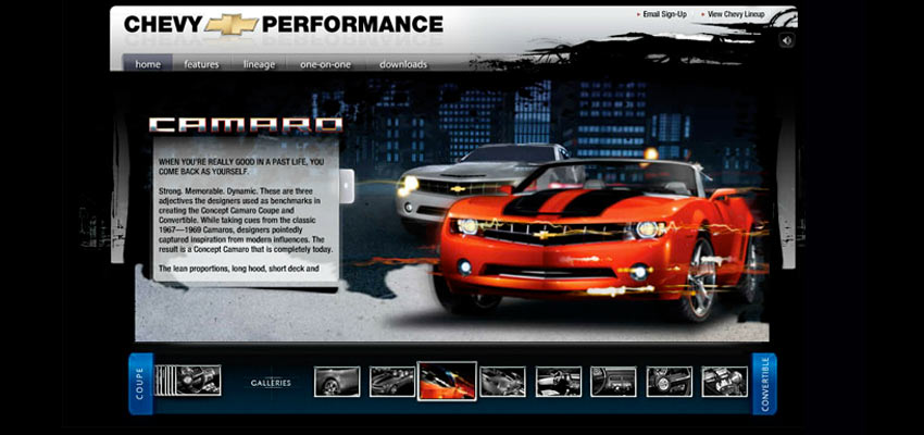 Chevy Camaro Site