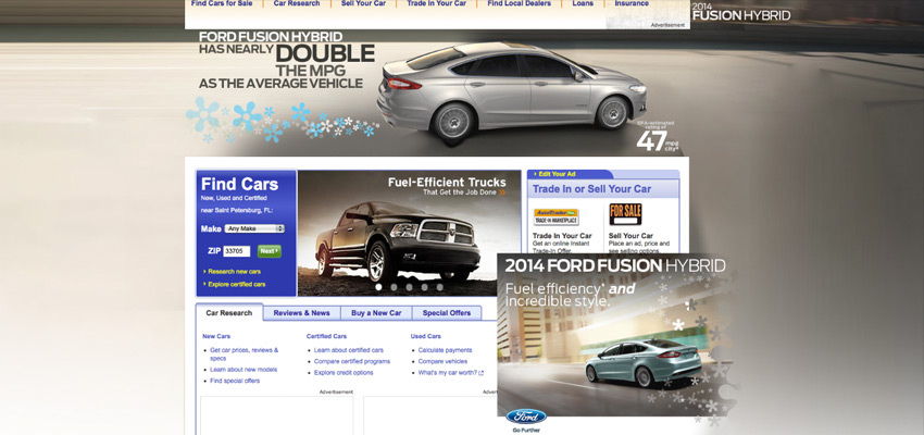 2014 Ford Fusion hpto