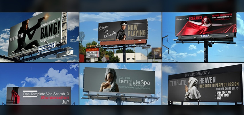 Billboard templates
