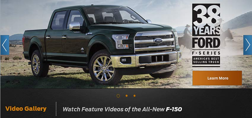 Ford Direct Website