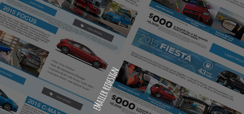 Ford eMailers – Design