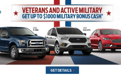 Ford Military Bonus Event