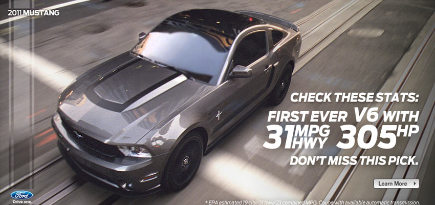 2011 Ford Mustang  Haris Cizmic - Creative Services from Detroit to Sarajevo