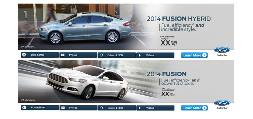 Ford Online Banners