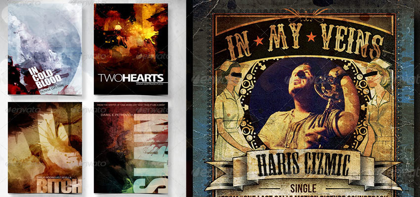 Book / CD Covers Haris Cizmic - Creative Services from Detroit to Sarajevo