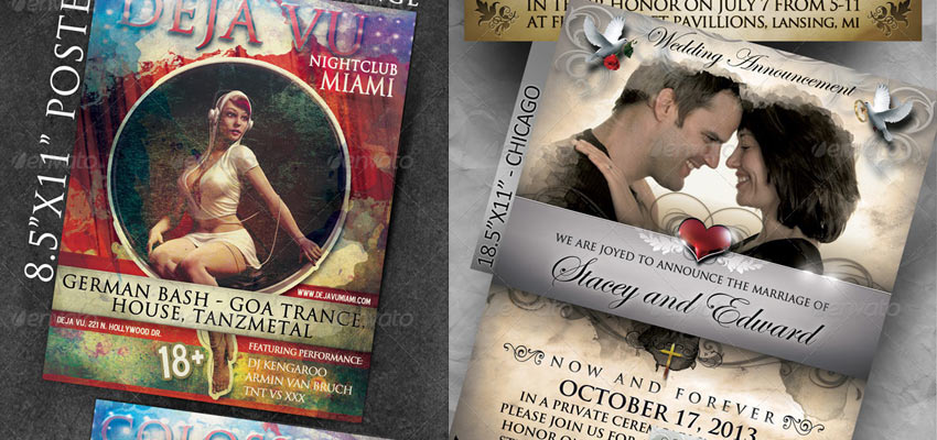 Event / Wedding Posters Haris Cizmic - Creative Services from Detroit to Sarajevo