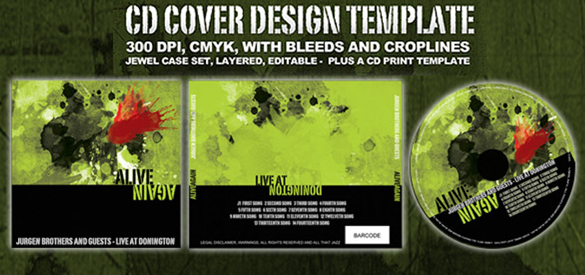 CD Cover Design Haris Cizmic - Creative Services from Detroit to Sarajevo