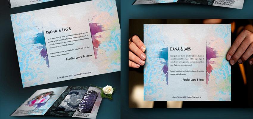 Wedding Card Design Haris Cizmic - Creative Services from Detroit to Sarajevo