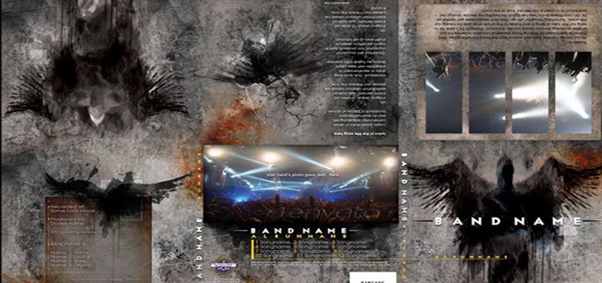 CD Design - 6 Panel Haris Cizmic - Creative Services from Detroit to Sarajevo