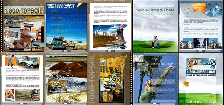 Brochures Haris Cizmic - Creative Services from Detroit to Sarajevo