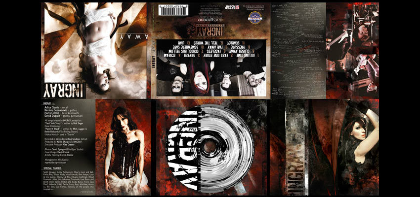 CD Design Ingray Haris Cizmic - Creative Services from Detroit to Sarajevo