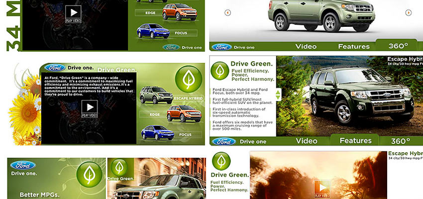 Ford Escape Widgets Haris Cizmic - Creative Services from Detroit to Sarajevo