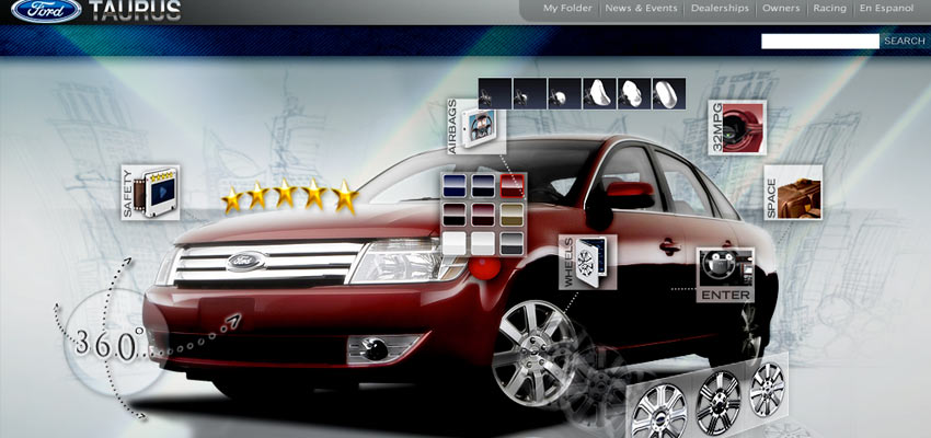 Ford Taurus – Website
