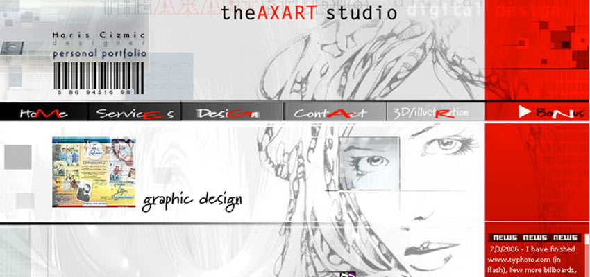 theAxart Studio Haris Cizmic - Creative Services from Detroit to Sarajevo
