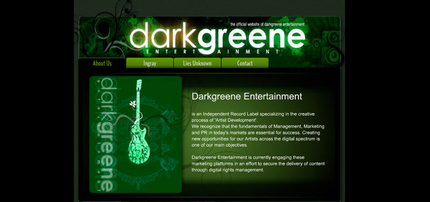 DarkGreene Haris Cizmic - Creative Services from Detroit to Sarajevo