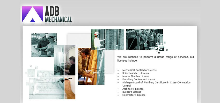 ADB Mechanical Haris Cizmic - Creative Services from Detroit to Sarajevo