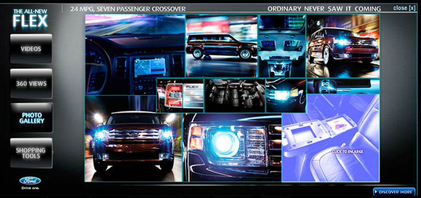 Ford Flex - hpto Haris Cizmic - Creative Services from Detroit to Sarajevo