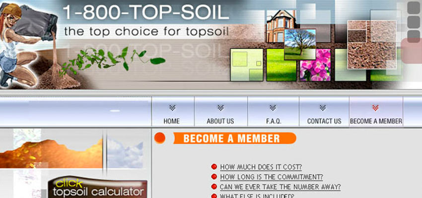 1-800-TopSoil Haris Cizmic - Creative Services from Detroit to Sarajevo
