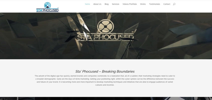 StaPhocused Website