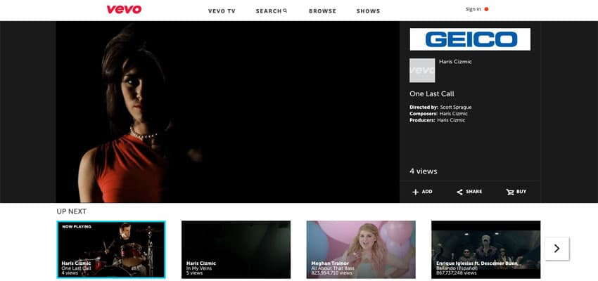 VEVO Featured