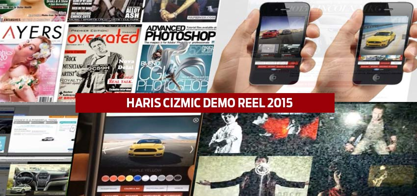 My New Demo Reel Is Here Haris Cizmic - Creative Services from Detroit to Sarajevo