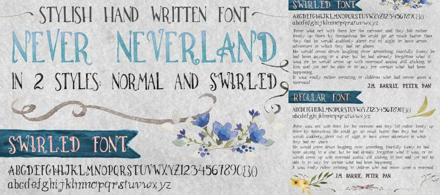 My custom fonts