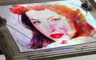 Painting Studio Mockup