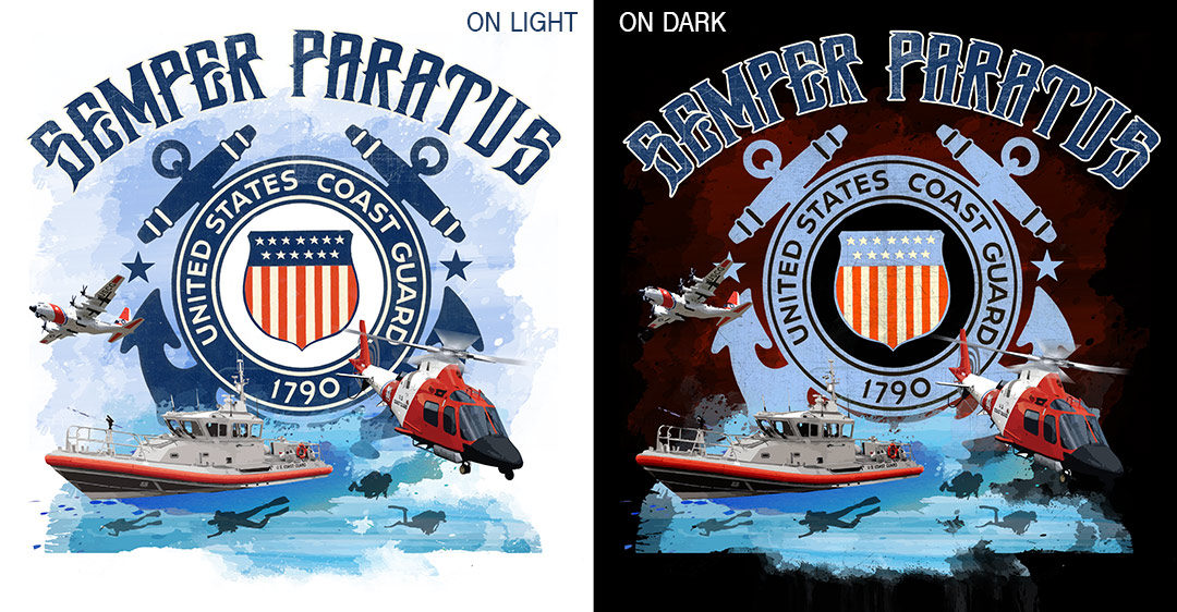 U.S. Coast Guard Shirt Design