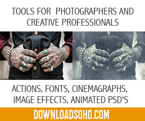 professional actions for photographers, professional image effects, cinemagraphs